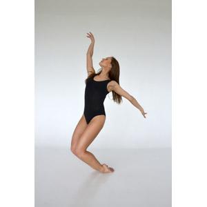フリー写真, 人物, 女性, 外国人女性, レオタード, 踊る(ダンス)