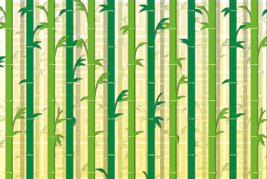 フリー イラスト竹林の背景