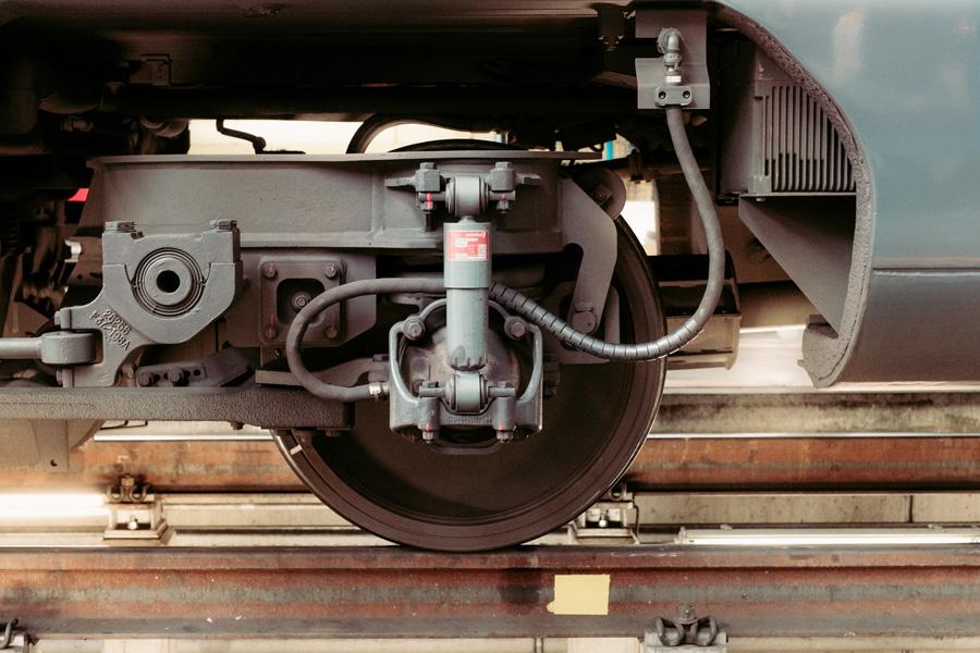 フリー 写真列車の車輪部分