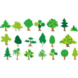 フリーイラスト, ベクター画像, AI, 自然, 樹木