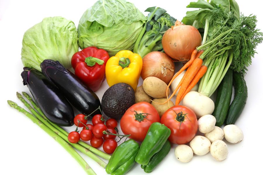 フリー 写真色々な種類の野菜