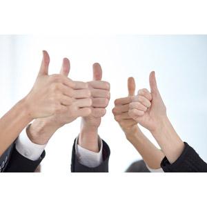 フリー写真, 人体, 手, 指, サムズアップ, いいね(グッド), ビジネス, 成功