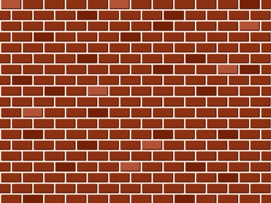 フリー イラストレンガ造りの壁