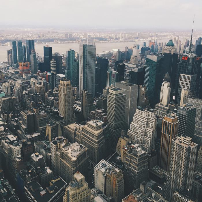 フリー 写真高層ビルの建ち並ぶ街の風景