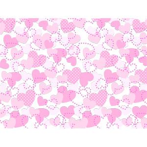 フリーイラスト, ベクター画像, AI, 背景, ハート, ピンク色