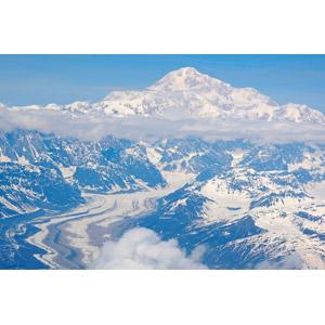 フリー写真, 風景, 自然, 山, 雪, 氷河