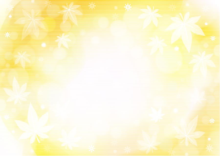 フリー イラスト光と玉ボケともみじの葉っぱの背景
