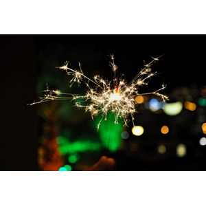 フリー写真, 花火, 線香花火