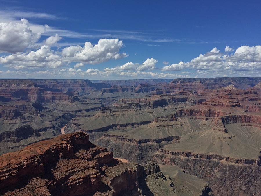 フリー 写真グランドキャニオンとコロラド川の風景