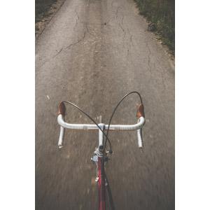 フリー写真, 乗り物, 自転車, ロードバイク, 小道
