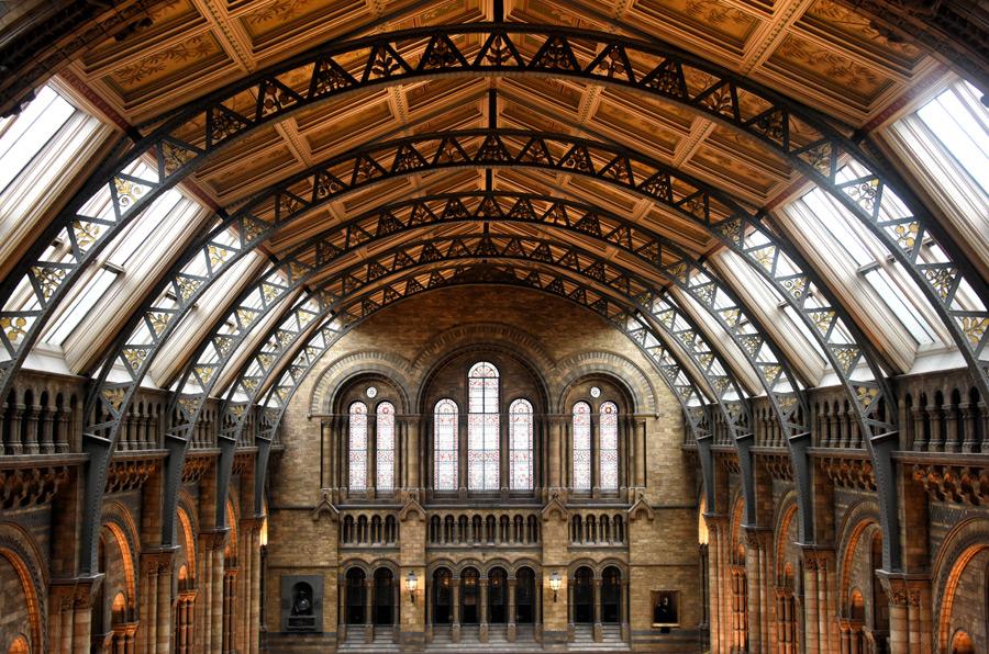 フリー 写真ロンドン自然史博物館の建物の風景