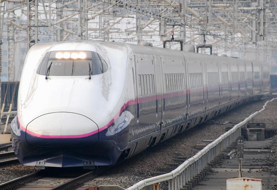 フリー 写真新幹線E2系電車