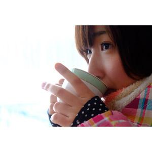 フリー写真, 人物, 女性, アジア人女性, 日本人, 女性(00043), コーヒー, 飲む, コーヒーカップ