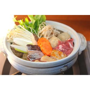 フリー写真, 食べ物(食料), 料理, 鍋料理, 寄せ鍋, 土鍋, 冬, 日本料理, 和食