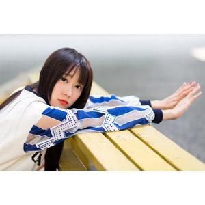 フリー写真, 人物, 女性, アジア人女性, 中国人, Neo Li(00040), 手を伸ばす