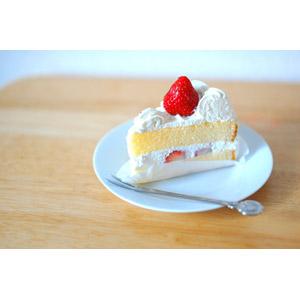 フリー写真, 食べ物(食料), 菓子, 洋菓子, スイーツ, ケーキ, ショートケーキ, 生クリーム