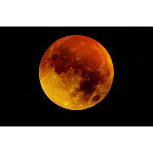 フリー写真, 風景, 自然, 夜空, 月, 満月, 天体