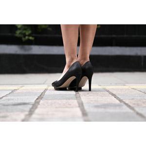 フリー写真, 人体, 足, 靴(シューズ), ハイヒール, パンプス, レディースファッション