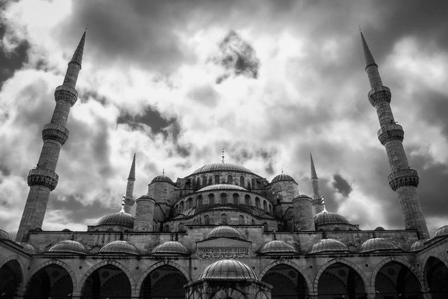 フリー写真 トルコのブルーモスク