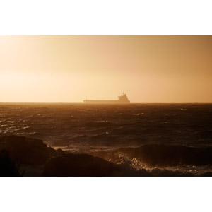 フリー写真, 風景, 海, 乗り物, 船, 輸送船, タンカー