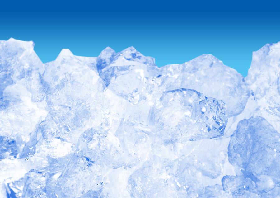 フリー写真 氷の背景