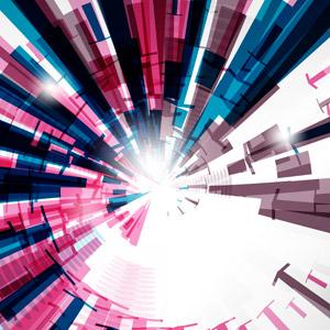 フリーイラスト, ベクター画像, AI, 背景, 抽象イメージ, トンネル状, 渦巻き状