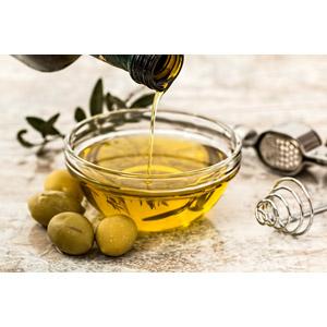 フリー写真, 食べ物(食料), 食用油, オリーブ, オリーブオイル