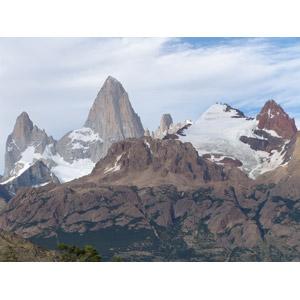 フリー写真, 風景, 自然, 山, 世界遺産, フィッツ・ロイ, アンデス山脈, アルゼンチンの風景