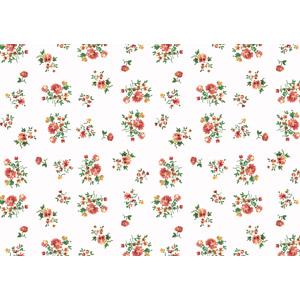 フリーイラスト, ベクター画像, EPS, 背景, 花柄, 植物, 花