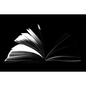 フリー写真, 本(書籍), モノクロ