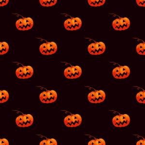 フリーイラスト, ベクター画像, SVG, 背景, 年中行事, ハロウィン(ハロウィーン), 10月, 秋, ジャック・オー・ランタン, 怪物, 南瓜(カボチャ)