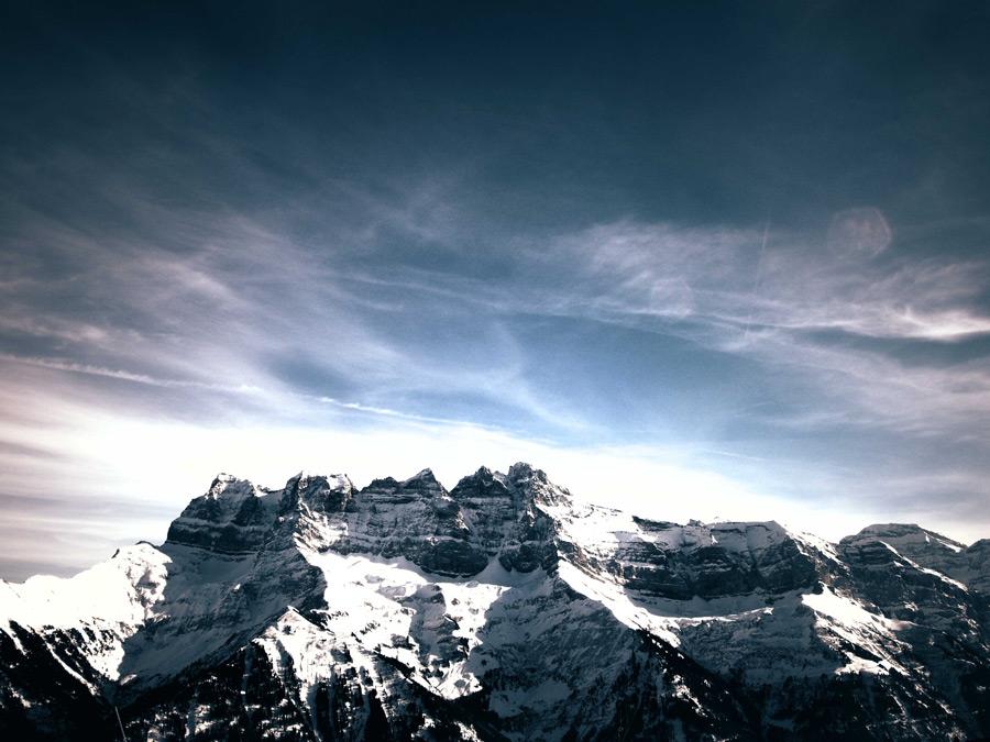 フリー写真 山の風景