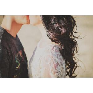 フリー写真, 人物, カップル, 恋人, キス(口づけ), 愛(ラブ)