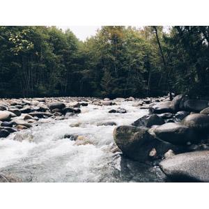 フリー写真, 風景, 自然, 河川, 渓流, カナダの風景, バンクーバー