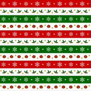 フリーイラスト, ベクター画像, AI, 背景, 年中行事, クリスマス, 12月, 冬, 雪の結晶, セイヨウヒイラギ, ポインセチア, 飾り罫線(ライン)