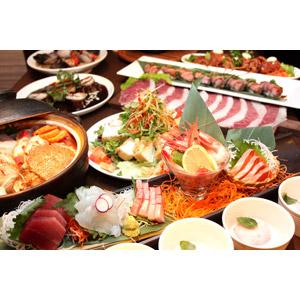 フリー写真, 食べ物(食料), 料理, 宴会, 忘年会, 新年会, 懐石料理