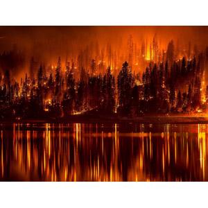 フリー写真, 風景, 災害, 自然災害, 火(炎), 火事(火災), アメリカの風景, カリフォルニア州