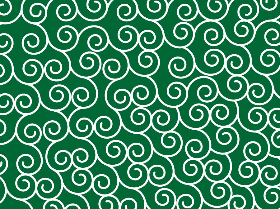 フリーイラスト 唐草模様の背景