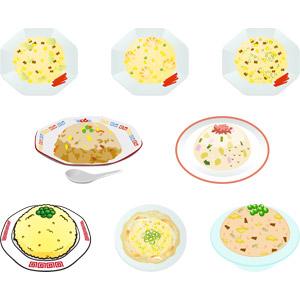 フリーイラスト, ベクター画像, AI, 食べ物(食料), 料理, 中華料理, 米料理, 炒飯(チャーハン)