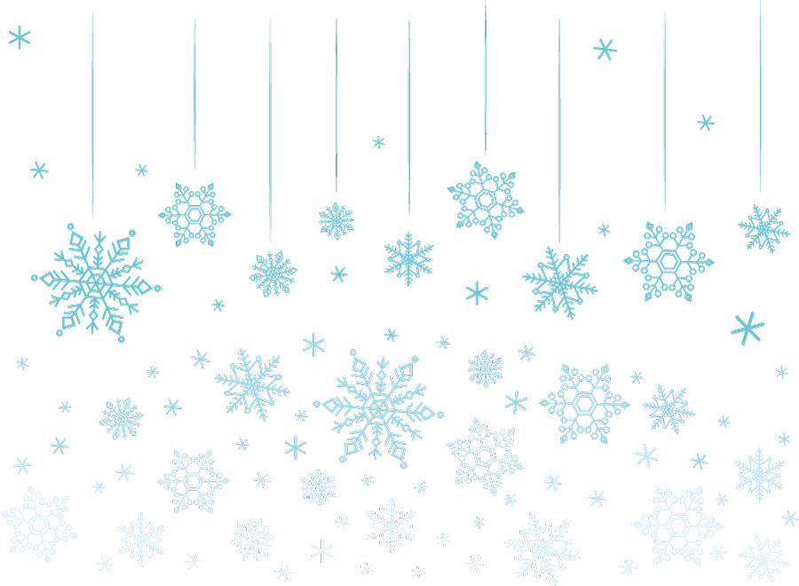 フリーイラスト 雪の結晶の背景