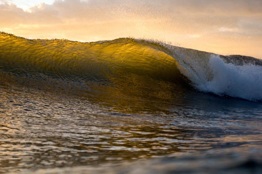 フリー写真 波の風景
