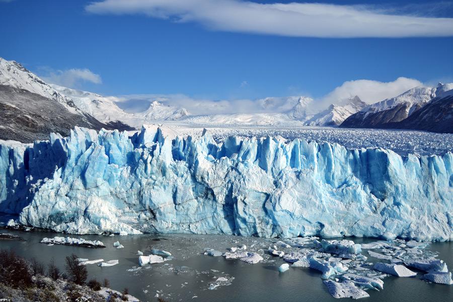 フリー写真 ペリト・モレノ氷河