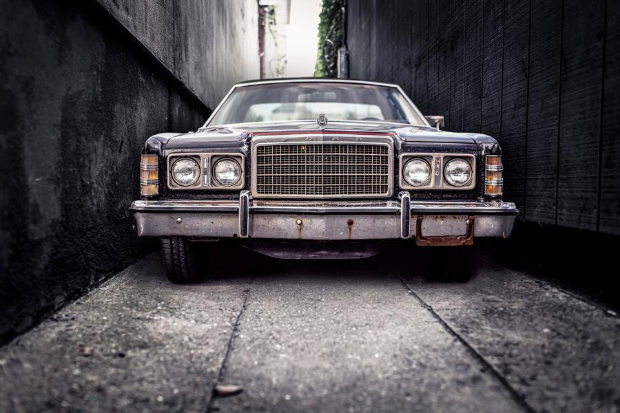 フリー写真 フォードのクラシックカー