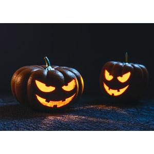 フリー写真, 年中行事, ハロウィン(ハロウィーン), 10月, ジャック・オー・ランタン, 怪物