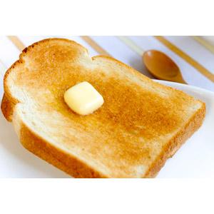 フリー写真, 食べ物(食料), 食べ物(食料), パン, 食パン, バター, 朝食