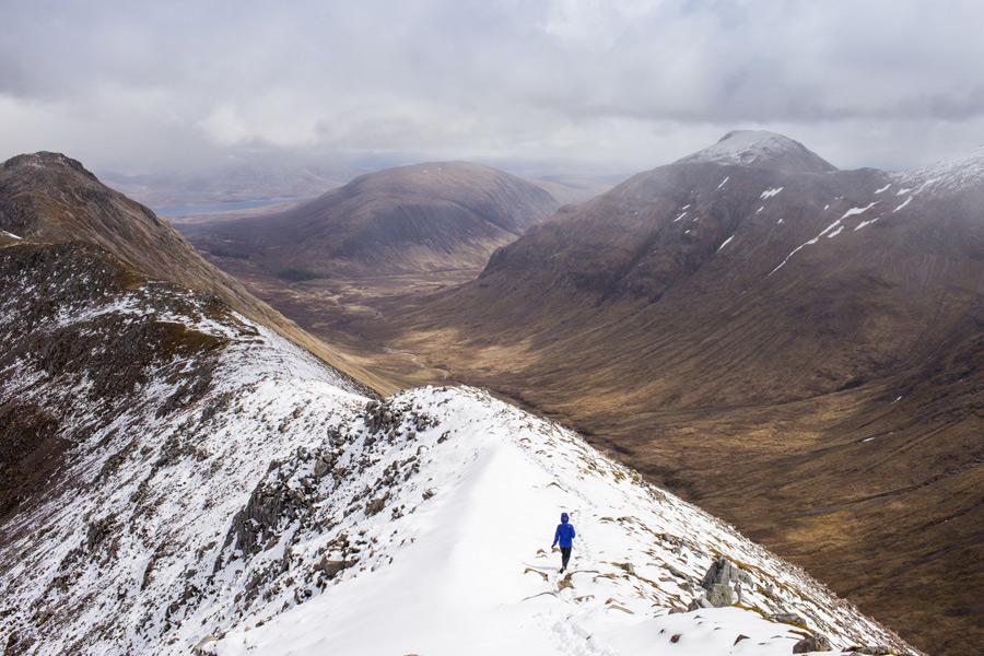 フリー写真 スコットランドのグレンコーの谷の風景