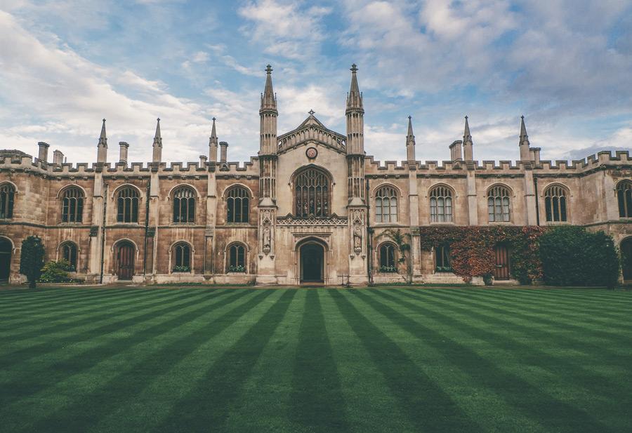 フリー写真 キングス・カレッジ・チャペルの風景