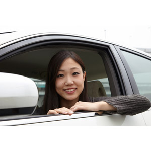 フリー写真, 人物, 女性, アジア人女性, 日本人, 女性(00031), ドライブ, 自動車, 人と乗り物, 乗り物