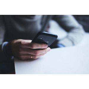 フリー写真, 人体, 手, スマートフォン(スマホ), Google Nexus