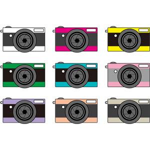 フリーイラスト, ベクター画像, AI, 家電機器, カメラ